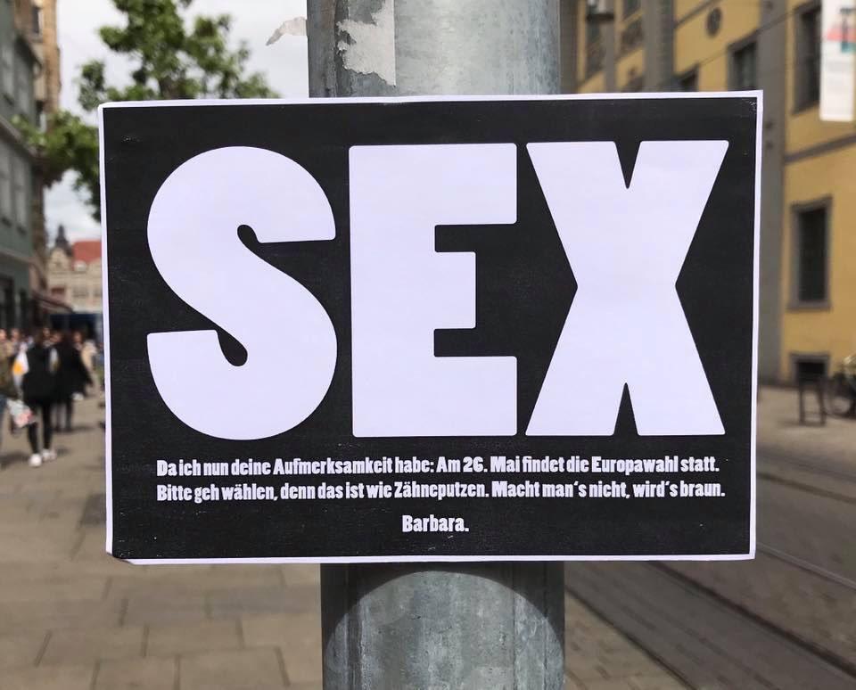 Barbara. zur Europawahl